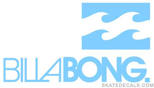 2 Billabong Stickers Decals