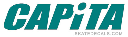 2 Capita Snowboards Stickers Decals