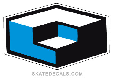 2 Consolidated Skateboards Stickers Decals