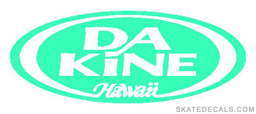 2 DaKine Oval Stickers Decals