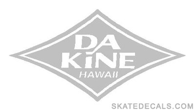 2 DaKine Diamond Stickers Decals