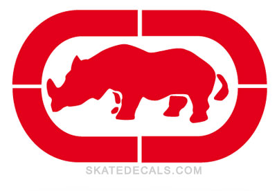 2 Ecko Unlimited Logo Stickers Decals