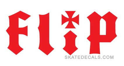 2 Flip Skateboards Stickers Decals