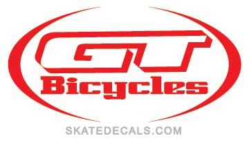 2 GT Bikes Racing Stickers Decals