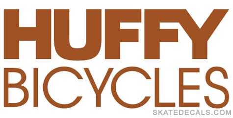2 Huffy Bicycles Logo Stickers Decals