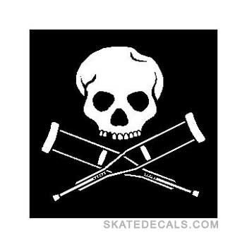 2 Jackass Logo Stickers Decals