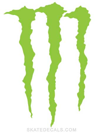 2 Monster Energy Drink Stickers Decals - Click Image to Close