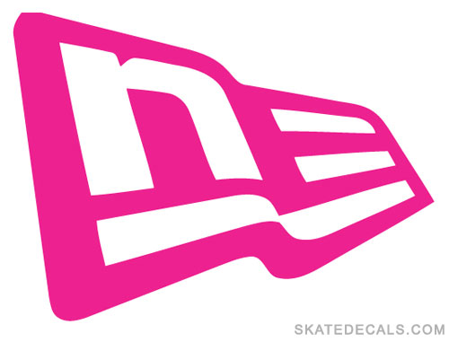 2 New Era Logo Stickers Decals - Click Image to Close