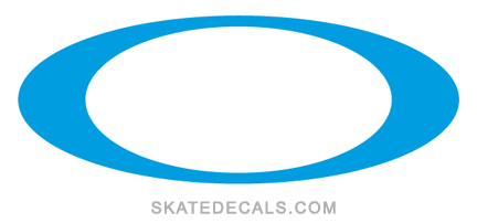 2 Oakley O Logo Stickers Decals