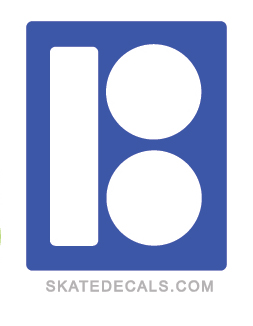 2 Plan B Skateboarding Stickers Decals