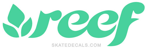 2 Reef Surfwear Stickers Decals