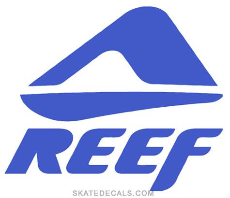 2 Reef Surfwear Stickers Decals [reef-big-logo] - $3 95