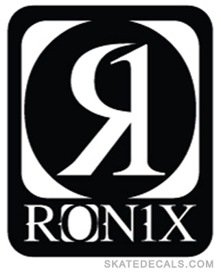 2 Ronix Wakeboarding Stickers Decals