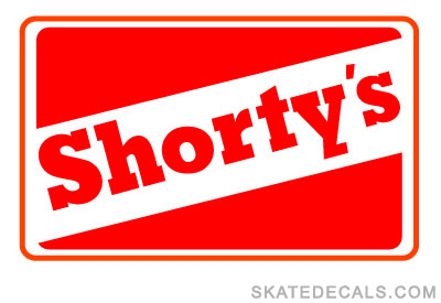 2 Shortys Logo Stickers Decals