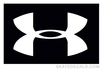 2 Under Armour Logo Stickers Decals