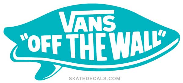 2 Vans Surf Off the Wall Stickers Decals